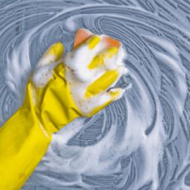 Espuma não é limpeza