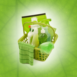Use sempre produtos de limpeza biodegradáveis